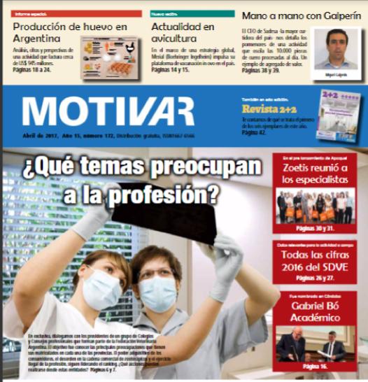 Periódico Motivar N°172 Abril de 2017